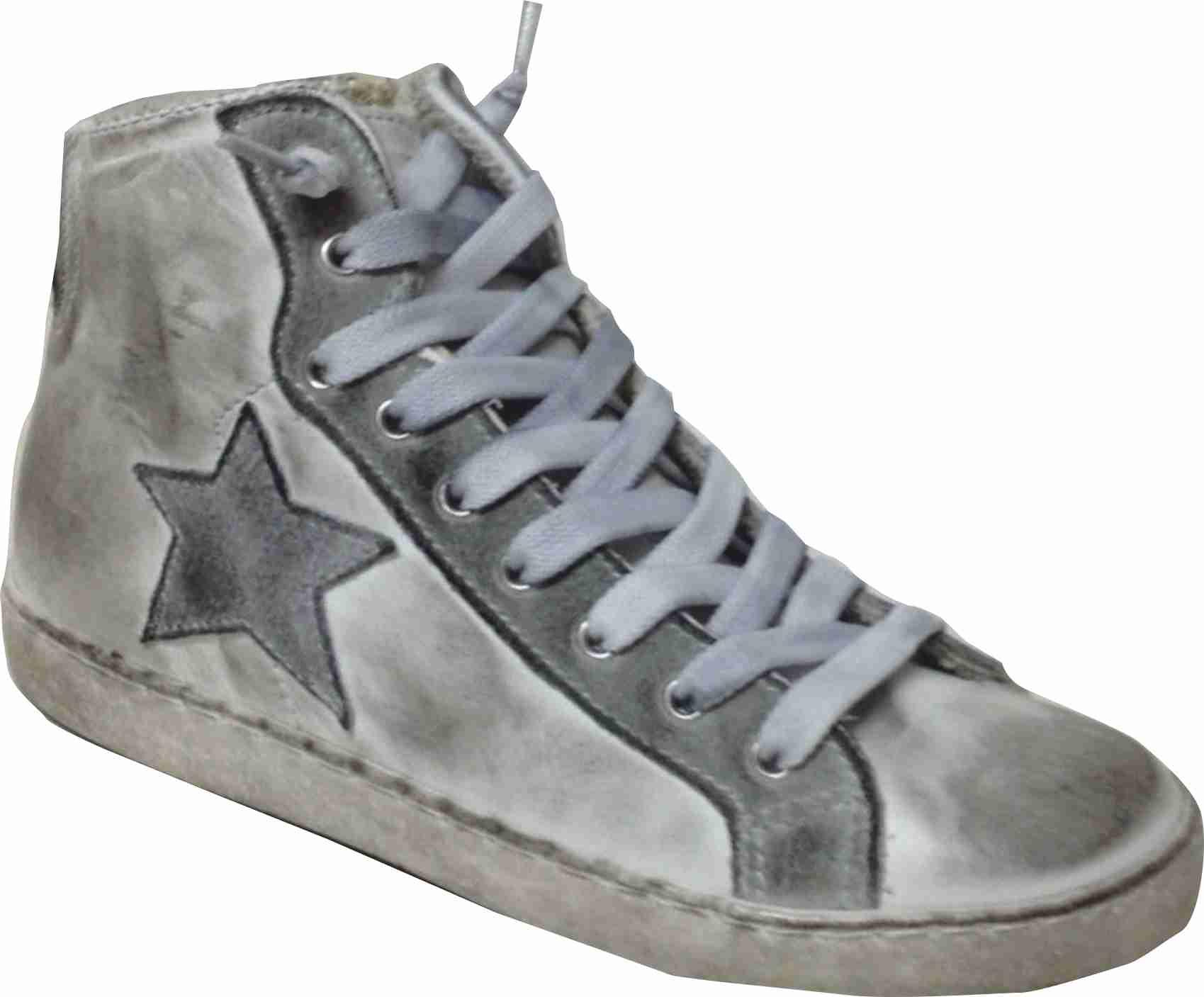 sneaker alte uomo offerta