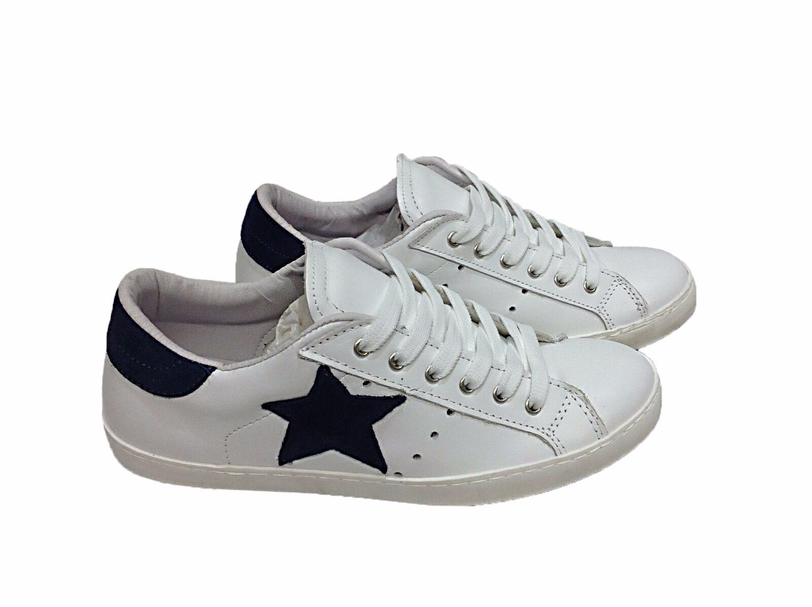 Dettagli su Guess scarpe uomo sneakers basse FM6SALLEA12 BIANCO BLU P20