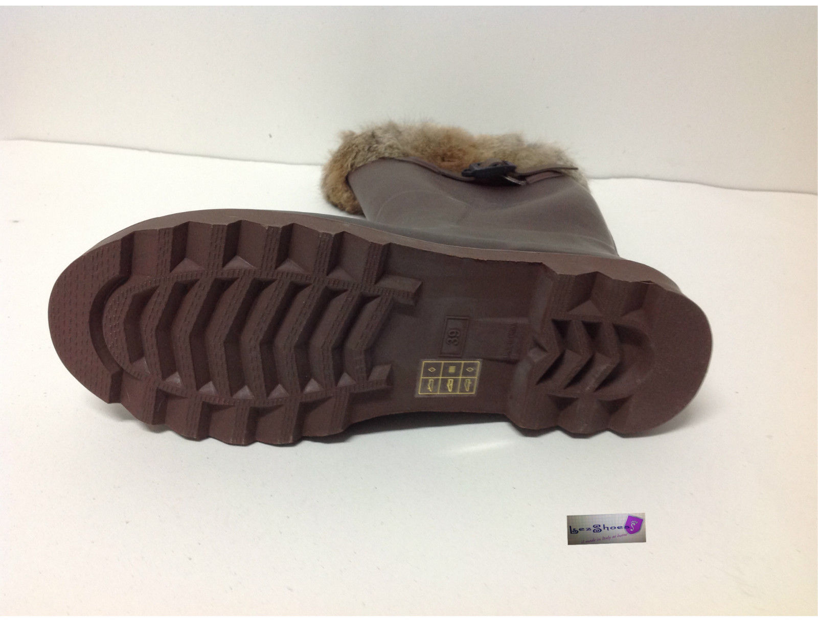 purchase cheap 5609e 78036 stivali - lezshoes - Stivali tatoosh pioggia con pelliccia ...