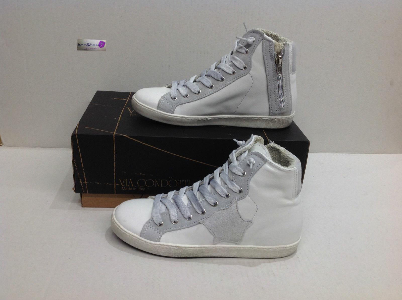 Scarpe Stella Uomo Pelle Ebay Via Bianca Sneakers Alte G Condotti 04p0r